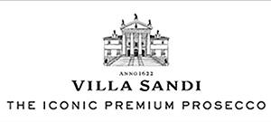 LOGO VILLA SANDI THE ICONIC PREMIUM PROSECCO BIANCO NERO